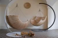 modern-and-elegant-wood-hanging-chair-for-modern-interior ...