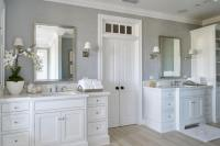 49 Rustic Farmhouse Master Bathroom Remodel Ideas