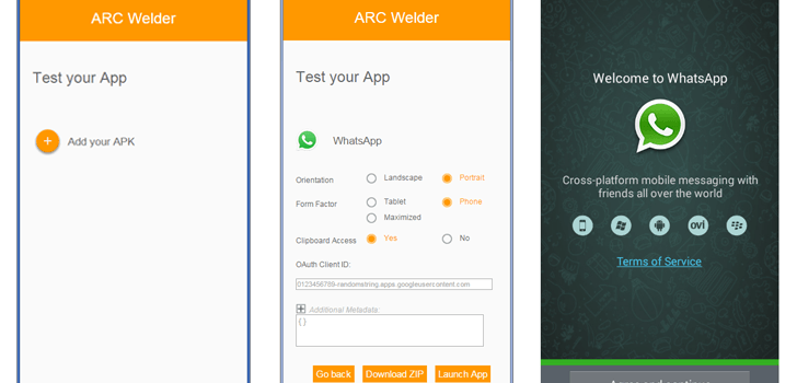 TechBlog: Run Android Apps in Chrome browser using ARC Welder