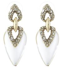 Alexis Bittar Pave Encrusted CLEAR LUCITE Dangling Tear ...