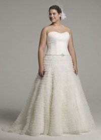 Custom Ball Gown Size 20 (could Fit Sizes 18 20 Wedding ...