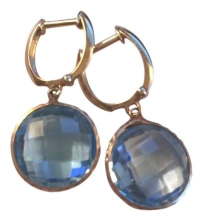 Medium Crop Of Blue Topaz Earrings