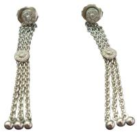 Charriol Philippe Diamond 4-Line Drop Earrings .16CT