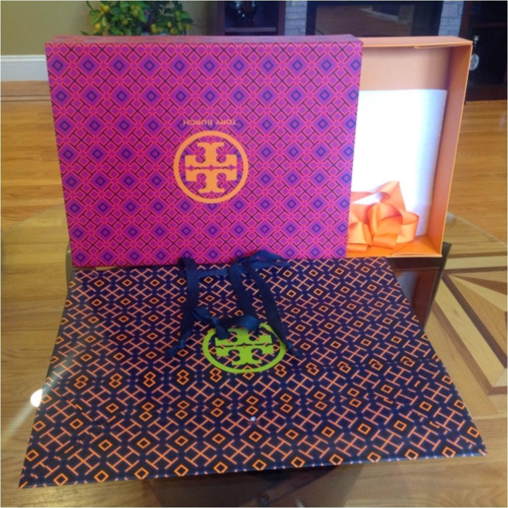 Tory Burch Large Gift Box And Shopping Bag