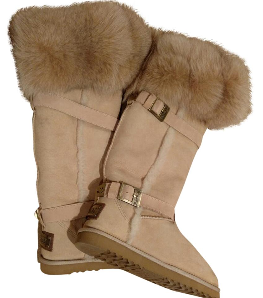 Ugg Knee High Boots With Fur