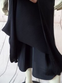 J Crew Silk Dress Black Tie Spaghetti Strap Bias Cut Sheer ...