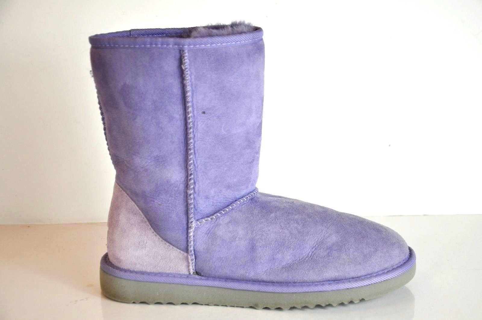 Purple Sheepskin Boots Size 9 Ontario Active School Travel