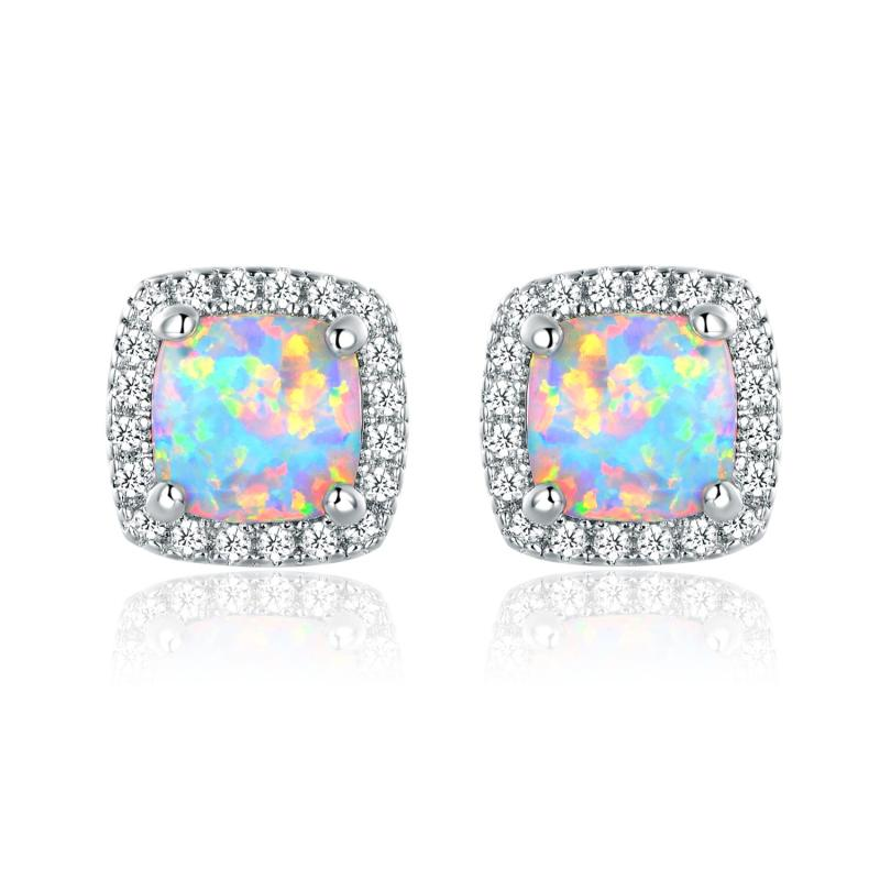 Large Of Opal Stud Earrings