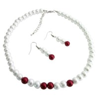 Fashion Jewelry For Everyone Collections White & Red