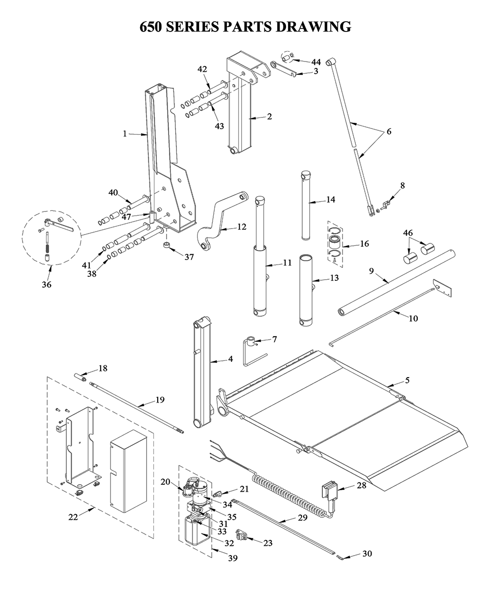 truck lift gate wiring diagrams