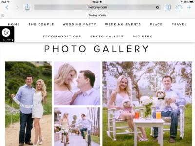 MY WEDDING WEBSITE | It Girl Weddings