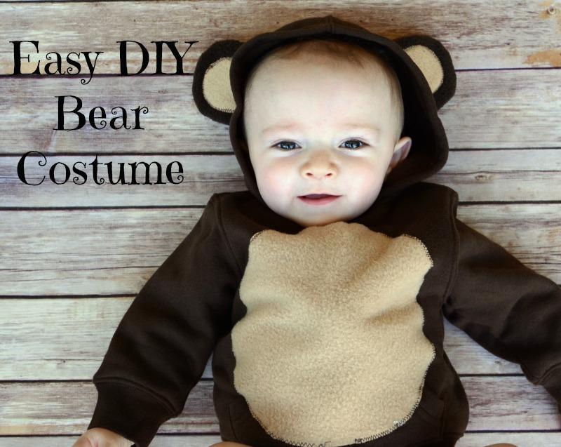 easy diy infant bear costume saveenlarge 5 easy diy halloween