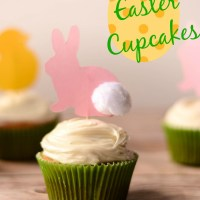 Easy Easter Cupcake Decorations... if you're lucky