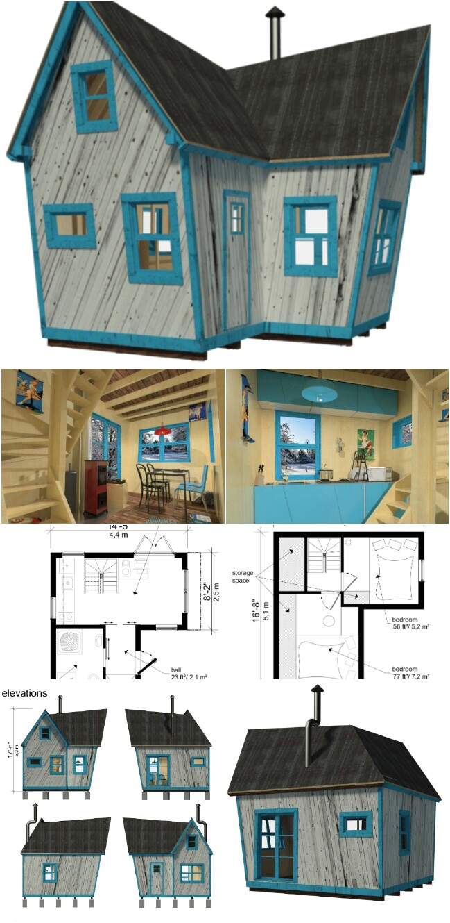 25 Plans To Build Your Own Fully Customized Tiny House On A Budget Tiny Houses