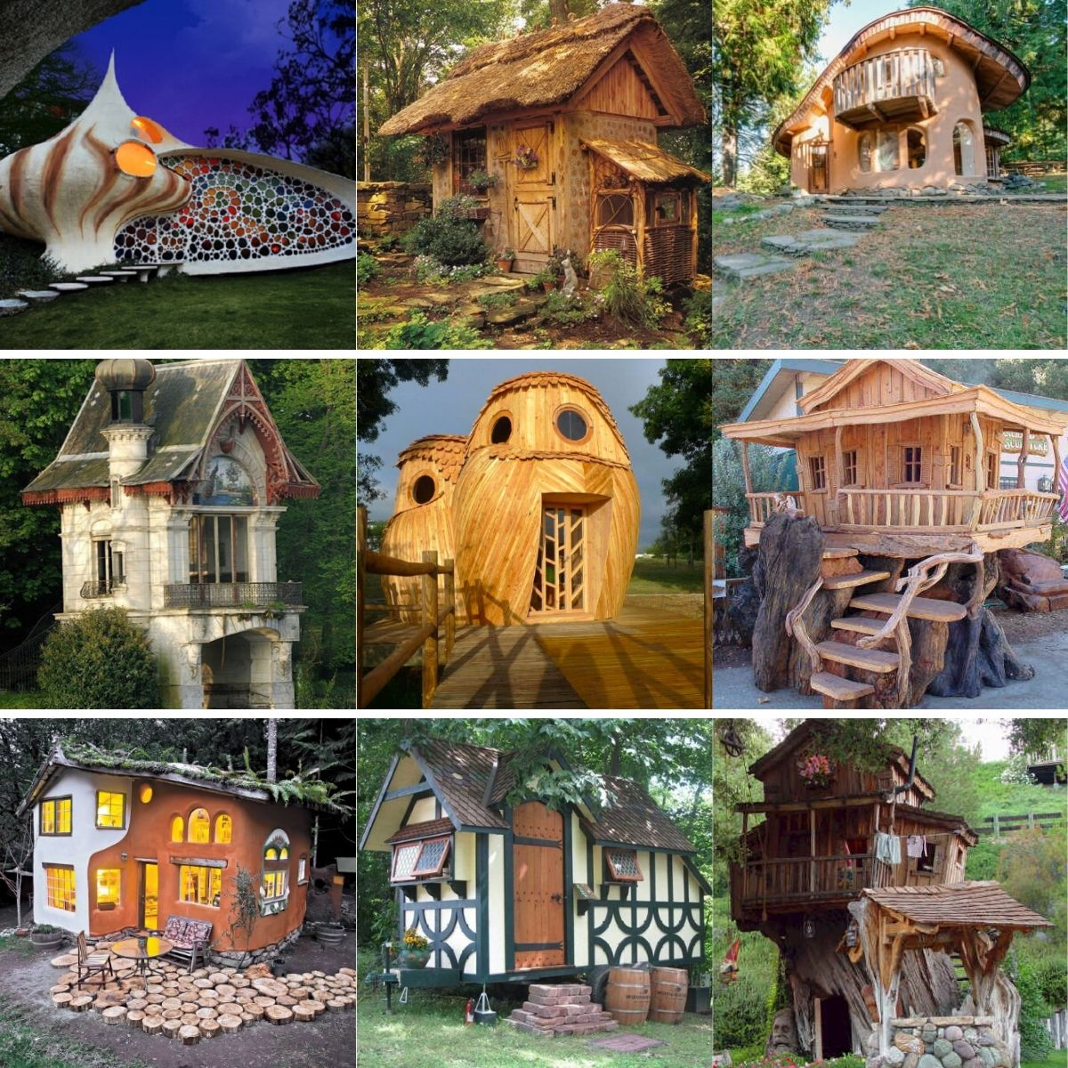 These 35 Enchanting Tiny Houses Look Just Like Real Life Fairy Houses Tiny Houses