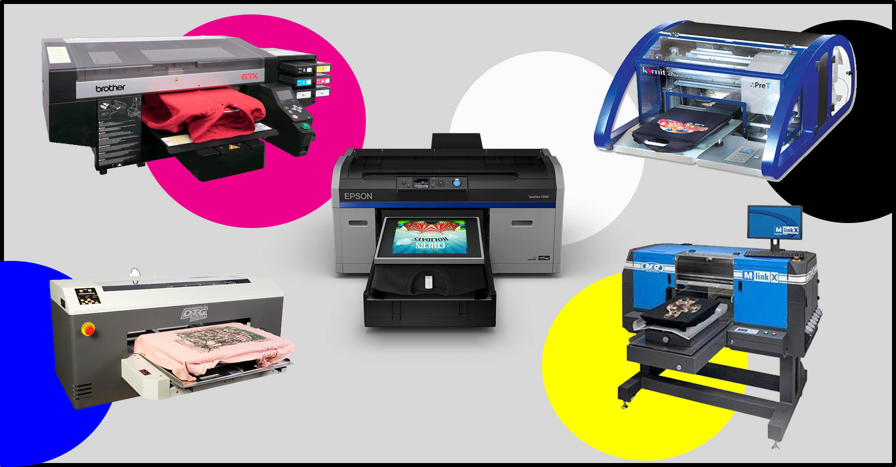 Big W Business Shirts The Top 5 T Shirt Printing Machines Of 2019 W Comparison