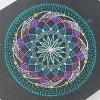マンダラを点で描く「点描曼荼羅」のワークショップに行ったよ