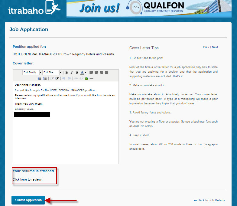 How To Post Your Resume Online 13 Steps With Pictures How To Use The Itrabaho Website Apply For A Job