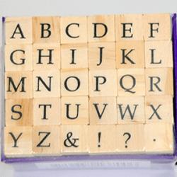 AlphabetStamps Classic Serif