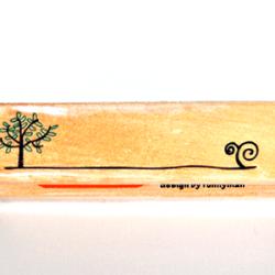 Border Stamps Tree