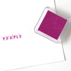 Purple Square Ink Pad