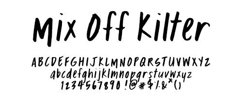 Mikko-Sumulong-Fonts-Mix-Off-Kilter