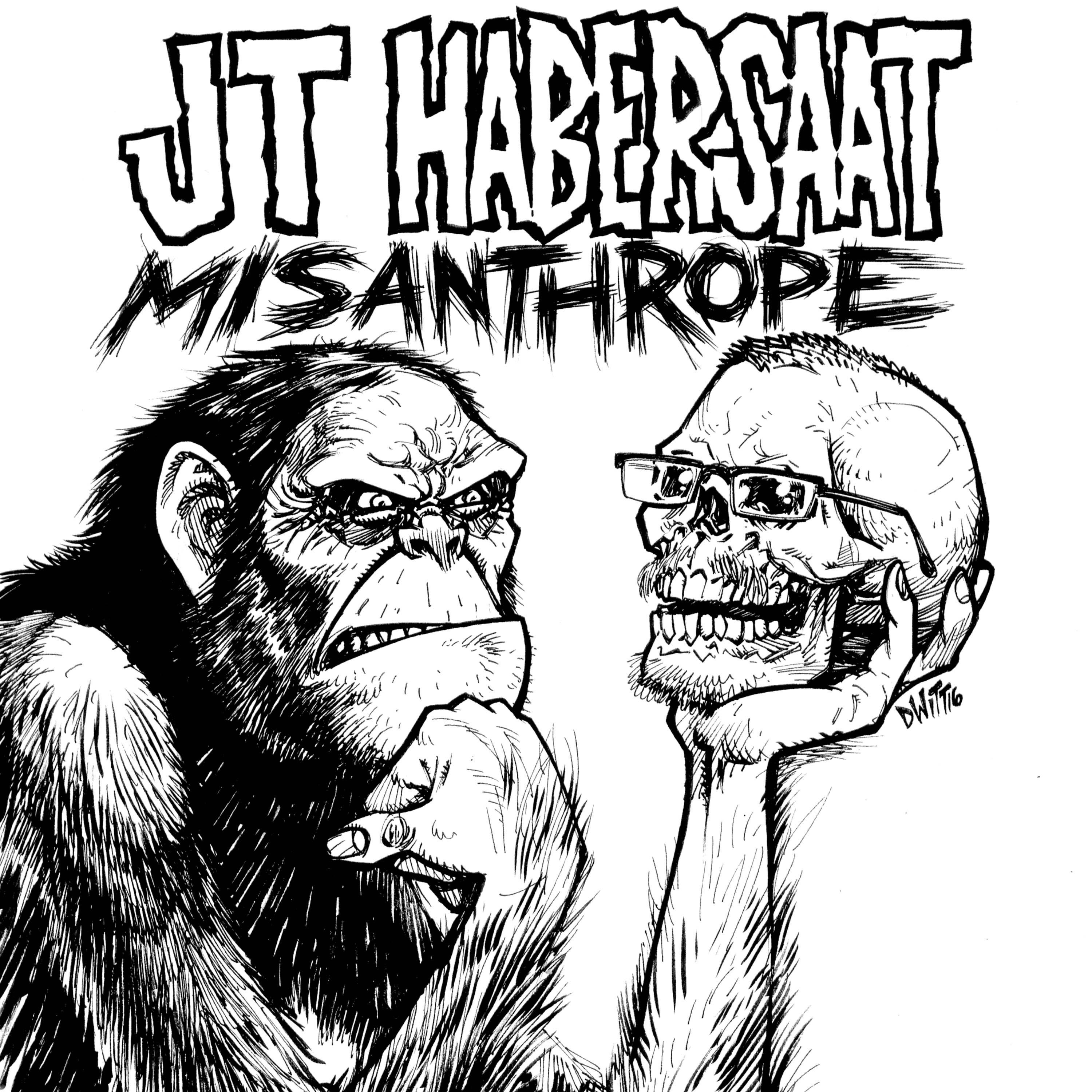PUNK COMEDY NEWS: JT Habersaat's latest CD/DVD Misanthrope out now – Prepare yourself!