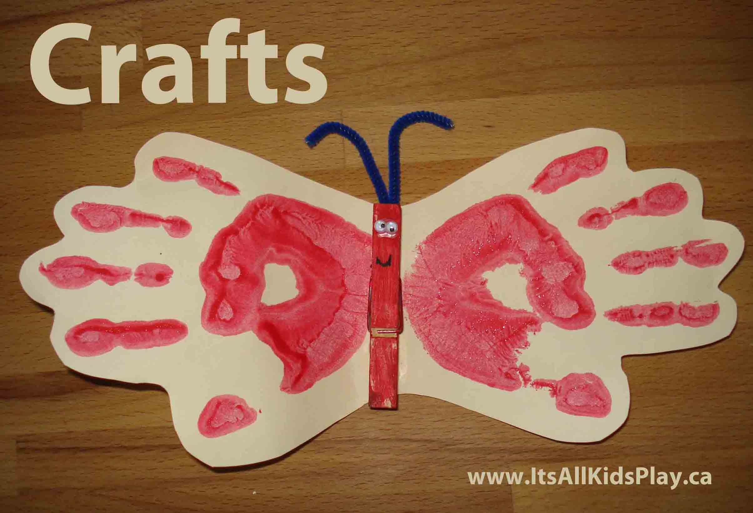 Art And Craft For Preschool Craft Projects It S All Kid S Play