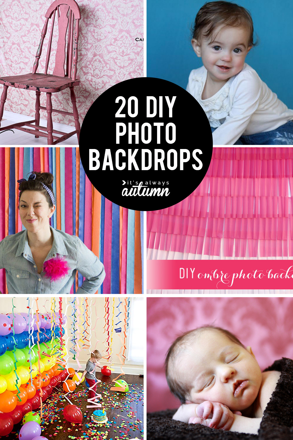 20 Genius Diy Backdrops You Can Make For Just A Few Dollars It S Always Autumn