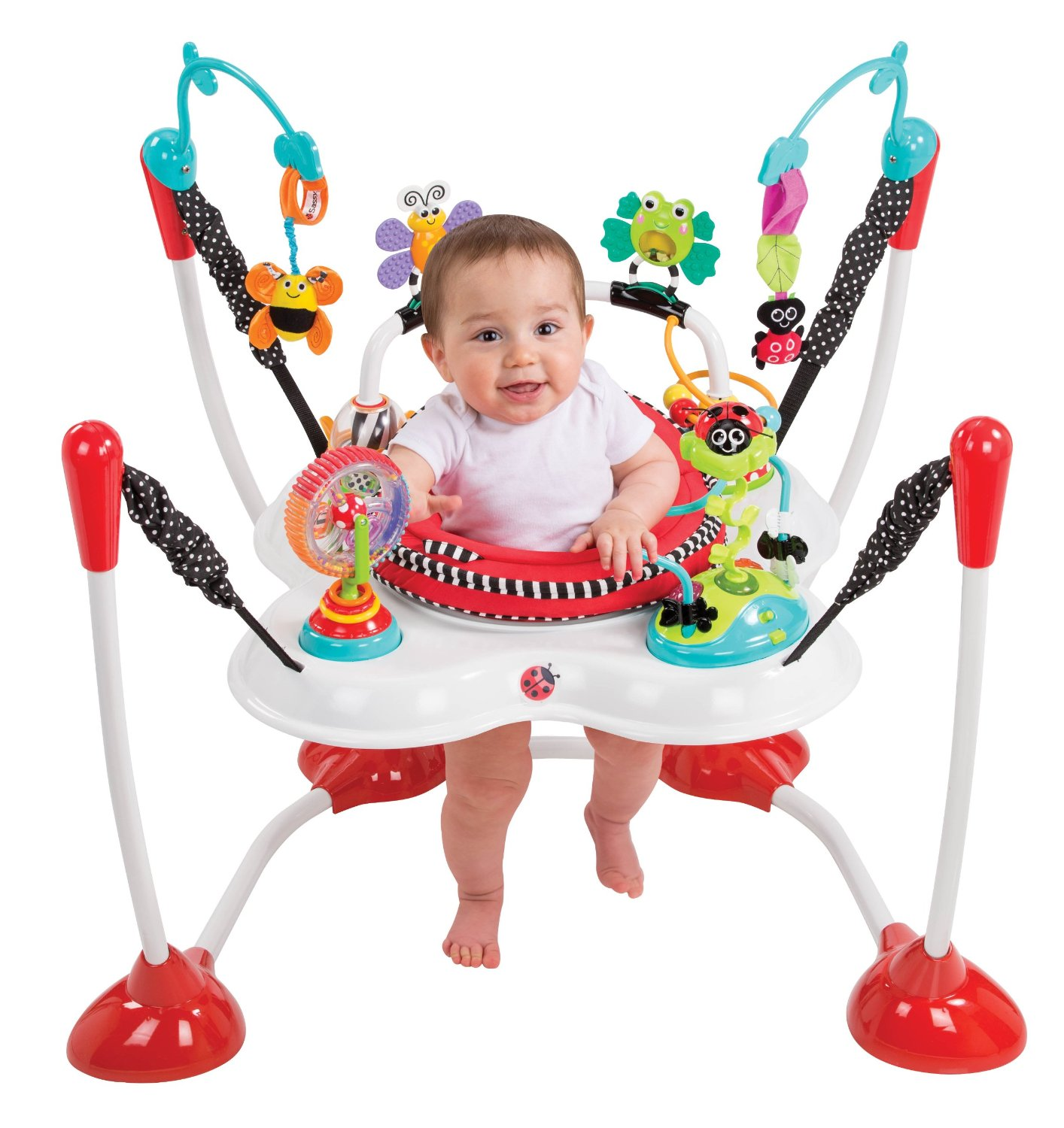 Baby Activity Center Sassy Bounce Around Activity Center