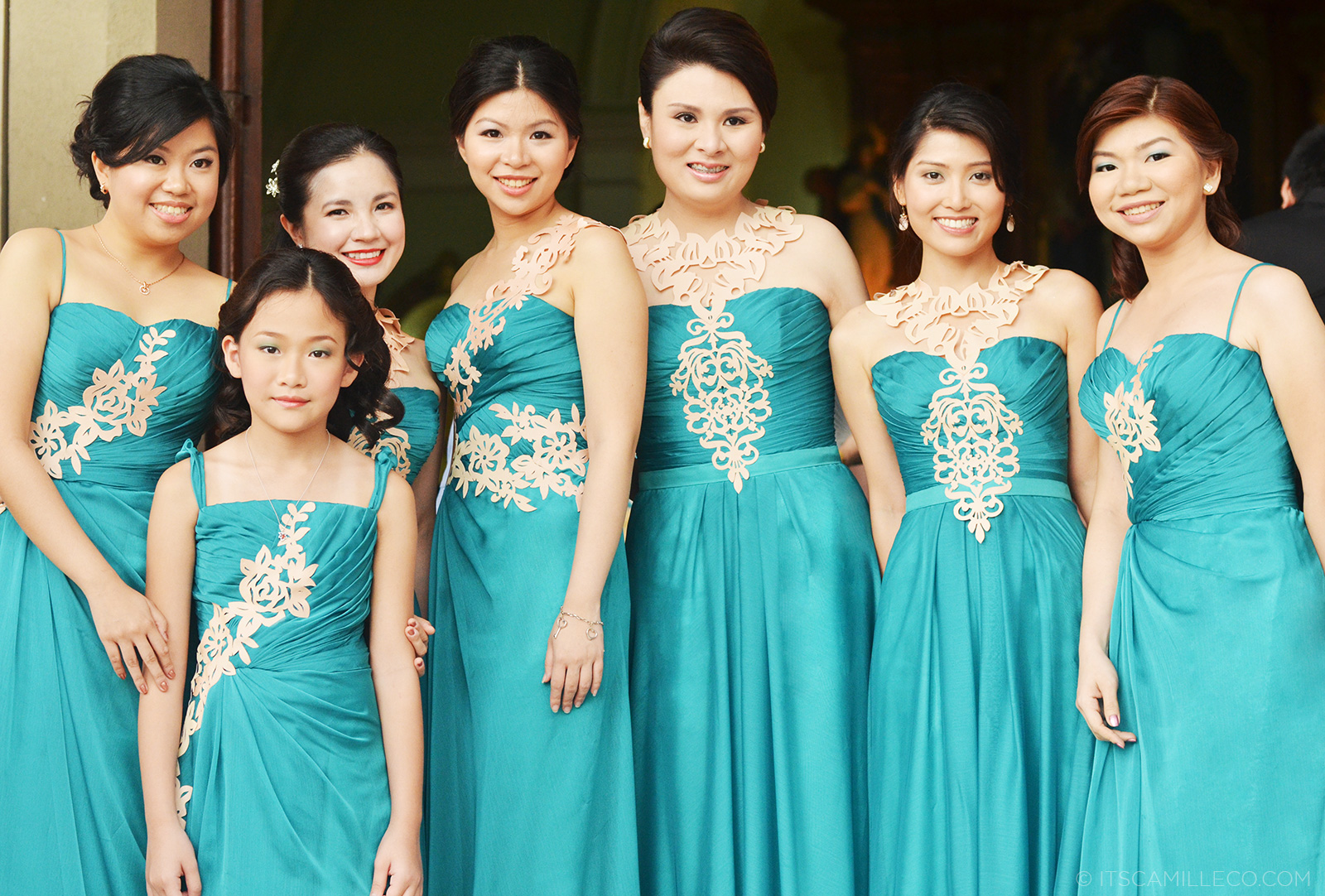 Tiffany Blue Bridesmaid Dresses Wedding