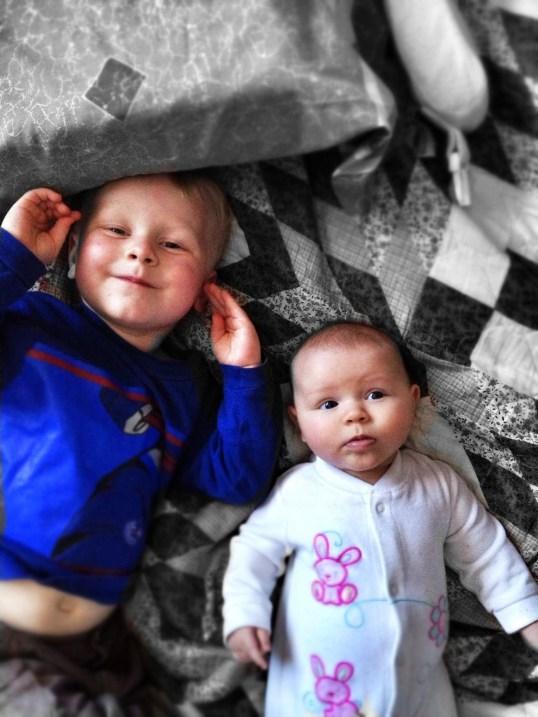 kids ages three years, three months