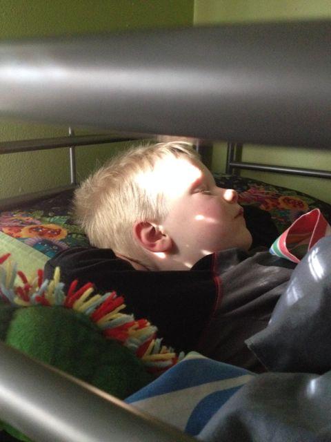 e sleeping