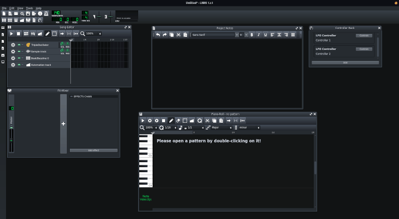 Lmms Screenshot