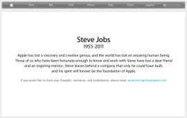 Steve Jobs Obituary - Apple