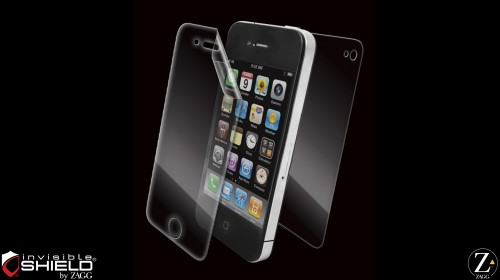 Zagg invisibleSHIELD for iPhone 4S