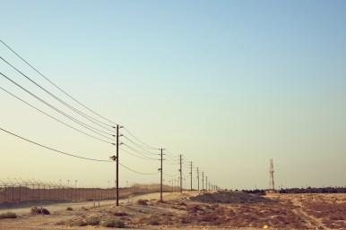 Saudi Arabia Desert and Power