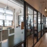 WeWork SoHo West Bright Office Windows