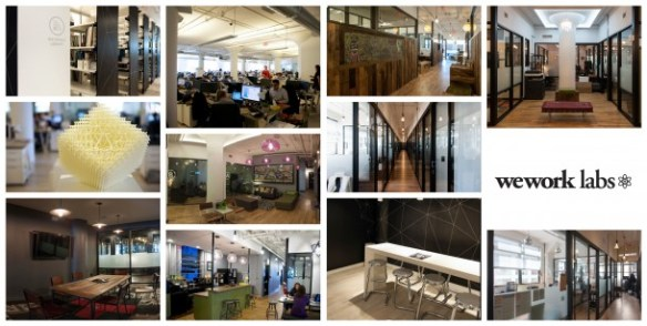 WeWork SoHo West Offices Visual Tour