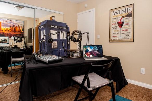 Doctor Who Podcast Studio