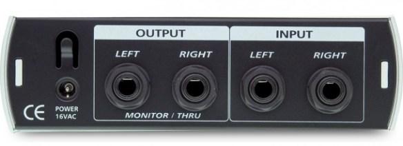 PreSonus HP4 Headphone Amplifier Input/Output