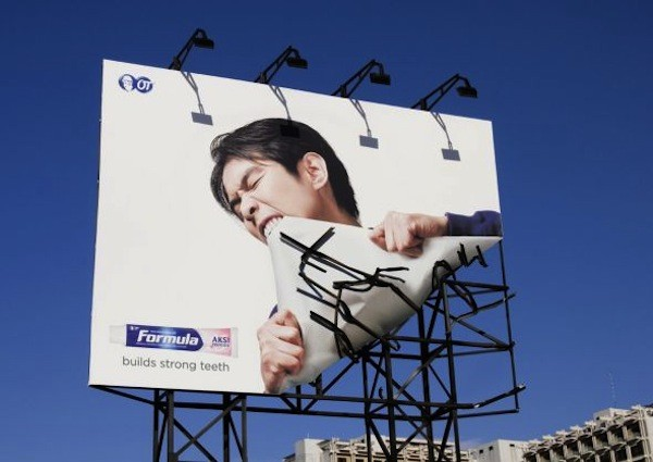 Latest New creative advertisement ideas for Billboard 2012-2013