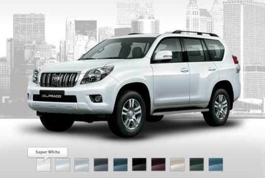 white-color-toyota-prado-2013-in-dubai-singapore