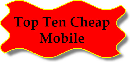 Top ten cheap mobile 2013