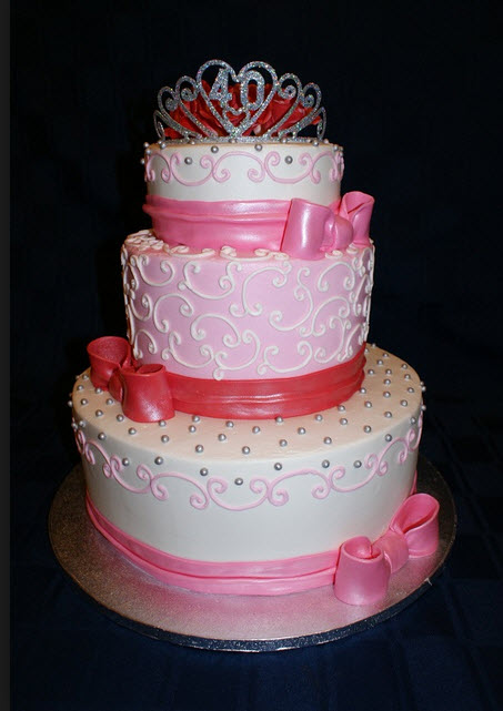 Simple Pakistani Girl Wallpaper Beautiful Birthday Cake For Baby Girl In Pink Color