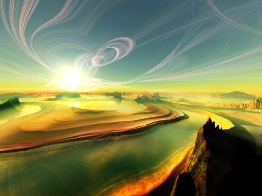 New-3D-Landscape-Background-image for desktop PC