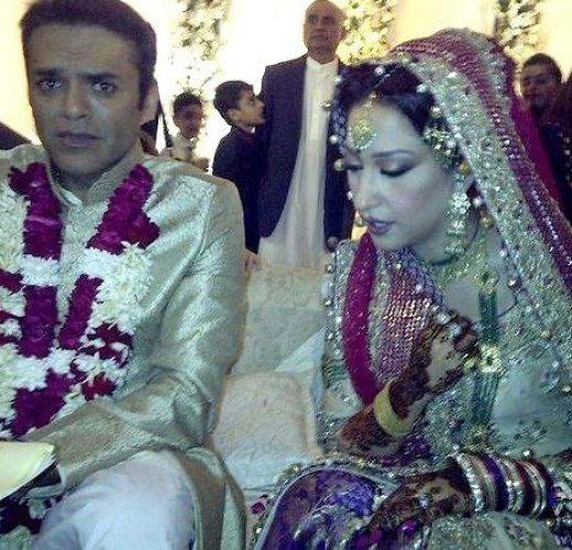 Mehar bukari Kashif abbasi marriage picture