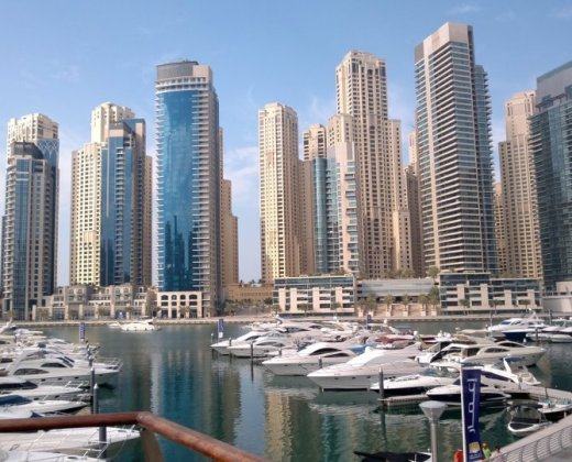 Dubai-marina-beautiful-view