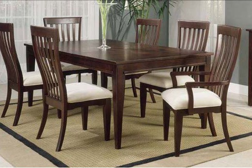 Latest Wooden Dining Table Design 2012