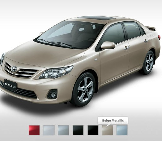 Latest-Toyota-Corolla-2013-Metallic-Color-Price